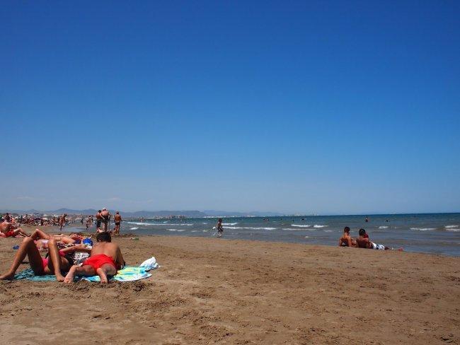 Центральний пляж в Валенсії